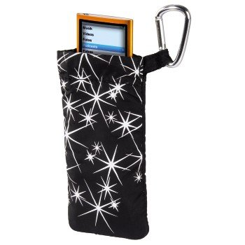 Hama Tasche Stars Schutzhülle Etui für MP3 Player Stick Apple iPod Nano 7G 6G 5G 4G Creative Intenso Philips Sony Walkman etc (Creative Mp3-player)