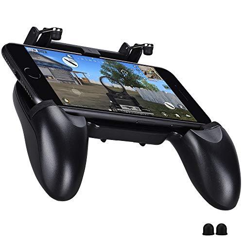 Qoosea PUBG Mobile Game Controller Gamepad Schießen Ziel Joysticks Physikalische Tasten Handgriff Spiel Trigger - Mobile-treiber