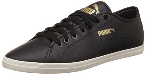 Puma Unisex-Erwachsene Elsu V2 Perf Sl Low-Top Schwarz (BLACK/WHITE 04BLACK/WHITE 04)