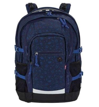 4YOU Basic Schulrucksack Jampac Galactic Blue