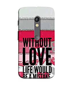 Fuson Designer Back Case Cover for Motorola Moto X Play (Friend Boy Girl Male Female College School)