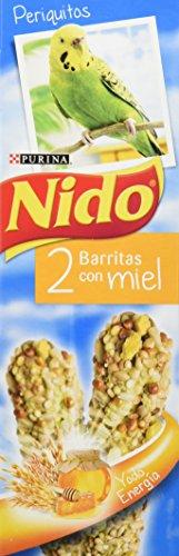 Nido Pajáros Alimentación Complementaria Periquitos, Barritas Con Miel - 45 g