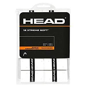 HEAD Xtreme Soft 12er weiß Overgrip, One Size
