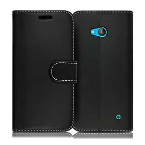 wholesale dealer f83bd 79d54 Microsoft Lumia 640 LTE Case ProGadgetsLTD New Luxury Slim Premium PU  Leather Wallet Magnetic Built