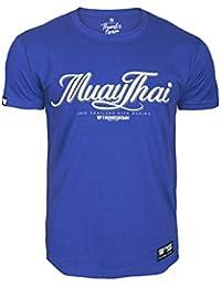 Pulgares Down Muay Tailandés Camiseta Tailandia Patada Boxeo MMA. Gimnasio Entrenamiento. Marcial Artes Informal