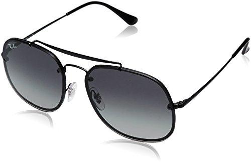 Ray-Ban Unisex-Erwachsene 0RB3583N 153/11 58 Sonnenbrille, Demigloss Black/Lightgreygradientdarkgrey,