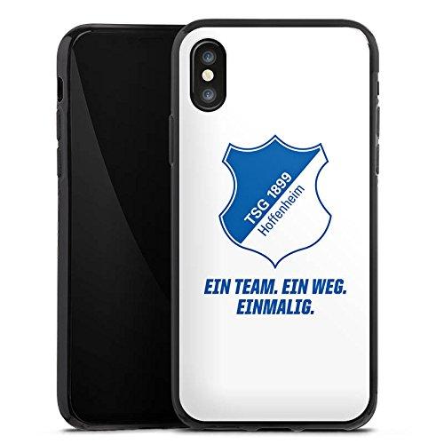 Apple iPhone 5c Hülle Case Handyhülle TSG Hoffenheim Fanartikel Fussball Silikon Case schwarz