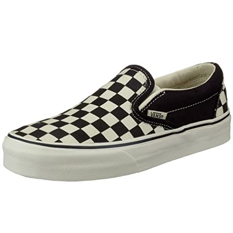 Vans U CLASSIC SLIP-ON VEYEBF4, Baskets mode mixte adulte - Noir/blanc, 39 EU