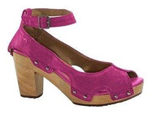 Unbekannt Pumps, Scarpe col tacco donna Rosa (rosa)