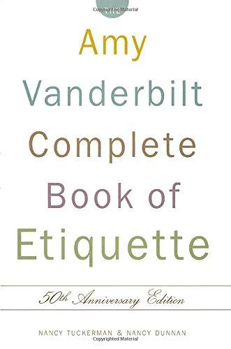 Complete Ettiquette por Tuckerman  Nanc