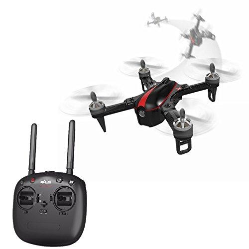 MJX Bugs 3 Mini Drone Quadricottero Telecomando 2.4Ghz 4 Luci LED Salti 3D Nero