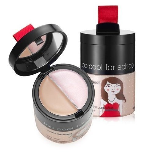 too cool for school, After School BB Foundation Lunch Box 40ml # NO.1 (BB cream + concealer + highlighter) (UV protection SPF37/PA, radiance)[001KR]