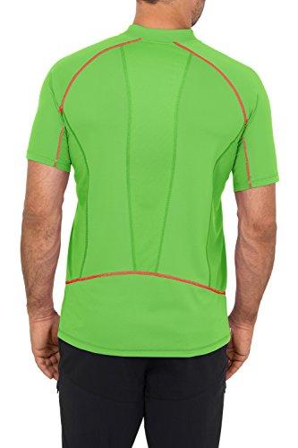 VAUDE Herren T-Shirt Men's Roseg Half Zip Shirt II Gooseberry