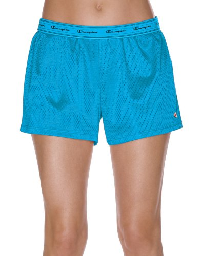 Champion Women's Mesh Short Hot Turquoise