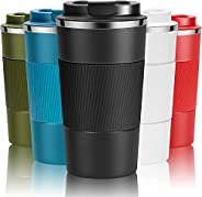 Travel Mug Reusable Coffee Cups Thermal Insulated Vacuum Insulation Stainless Steel Bottle for Hot Cold Drinks
