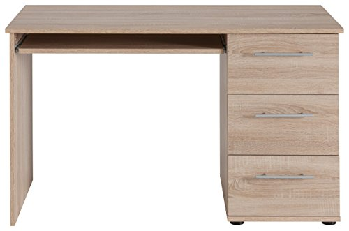 4506 – Computertisch, in sonoma Eiche sägerau