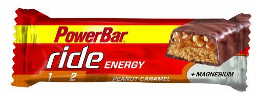 Powerbar Ride Riegel, Erdnuss-Karamell, 18 x 55 g, 1er Pack (1 x 990 g Packung)