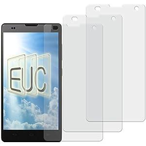 3 x Displayschutzfolie matt/entspiegelnd für Huawei Honor 3C