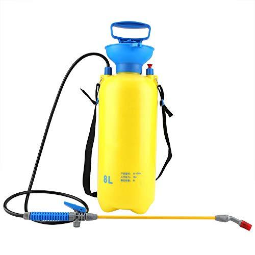 Sprayer, 8L Hand Garten Sprayer Pumpendruck Wasser Handsprüher Rasen und Garten mit Schultergurt für Pflanzen Obstbaum Gartengerät Haushalt -