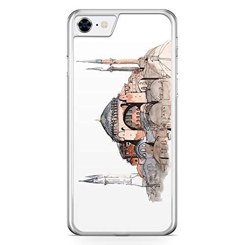 Hagia Sophia Ayasofya Istanbul Türkei - Hülle für iPhone 6 / 6s - Motiv Design Türkiye Cami Islam - Cover Hardcase Handyhülle Schutzhülle Case Schale