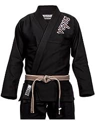 Venum Contender 2.0–Kimono de Jiu Jitsu para hombre, Hombre, color negro, tamaño FR : A3 (Taille Fabricant : A3)