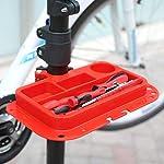 amzdeal-Supporto-Cavalletto-per-Bicicletta-115-170CM-Riparazione-Manutenzione-Bici-4-Gambe-capacit-di-Carico-50kg-Girevole-in-360-Bike-Stand-con-Il-Vassoio-degli-Attrezzi