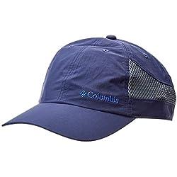 Columbia Tech Shade Hat - Gorra Unisex Adultos, Azul (Nocturnal) Talla Única