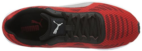 Puma Meteor, Chaussures de Running Compétition Homme Rouge (High Risk Red-puma Silver-puma Black 01)