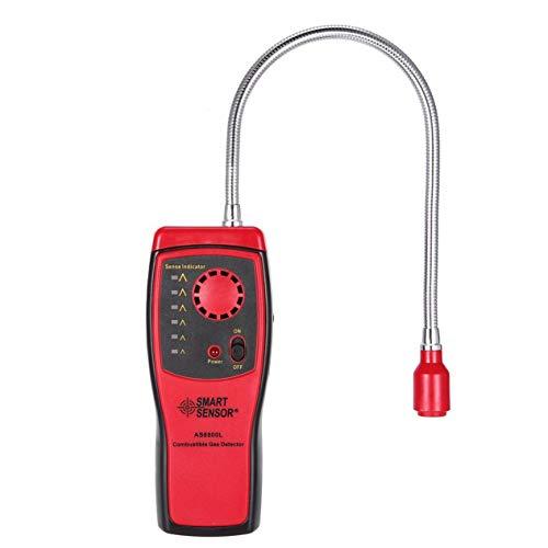 EdBerk74 Gasdetektor Methan Erdgasleckanalysator Tester Alarm Tragbar Portable Audio-analyzer