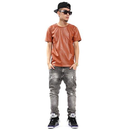 hombre-camiseta-de-leatherette-de-pizoff-unisex-hip-hop-t-shirt-y0544-camo-m