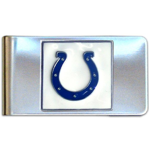 Siskiyou Gifts Co, Inc. NFL Indianapolis Colts Geldklammer aus Stahl