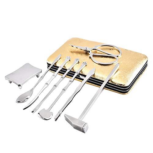 8 Stück/Set Edelstahl Ess-Kreben-Werkzeug Hummer Crab Cracker Werkzeug Kit - Ess-kit