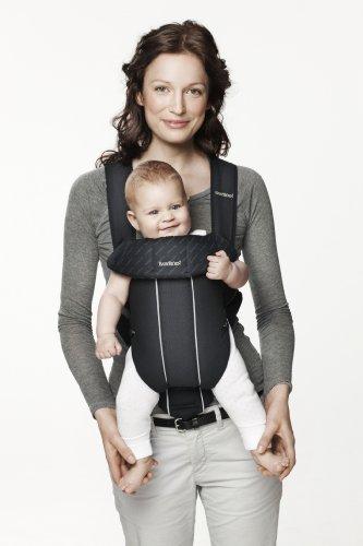 BABYBJÖRN Babytrage Original (Schwarz, Baumwolle)