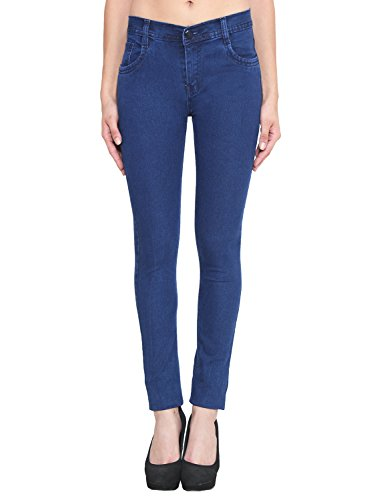ALC Creations Dark Blue Slim Fit Jeans for Women