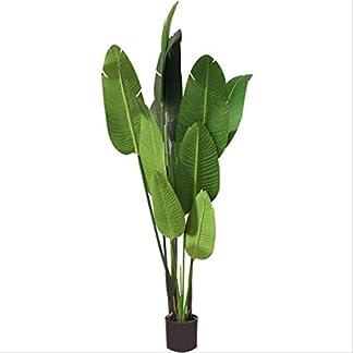 XUANLAN-Realistischer-knstlicher-Baum-Nordic-Wind-Simulation-Reisenden-Bananenbaum-Groe-Knstliche-Baum-Hochzeit-Dekoration-Baum-Grne-Pflanze-120-cm-Leicht-zu-reinigen