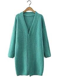 Ladies Nueva V-Tie cierre pequeño de punto chaqueta