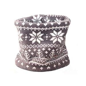 Hundeloop – Norweger Style – Grau, Schal für Hunde, wunderbar warm und weich