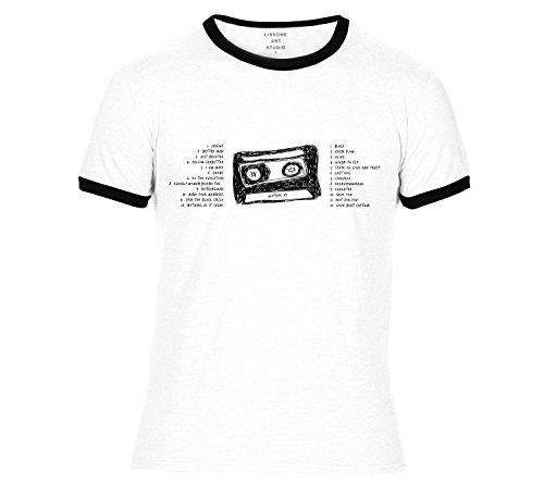 Mixtape T-Shirt PEARL JAM by Lissome Art Studio