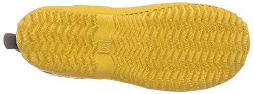 """Bisgaard """"STAR"""" Unisex-Kinder Halbschaft Gummistiefel Gelb (80 Yellow)"""