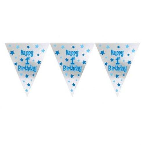 Ersten Geburtstag Boy Folie
