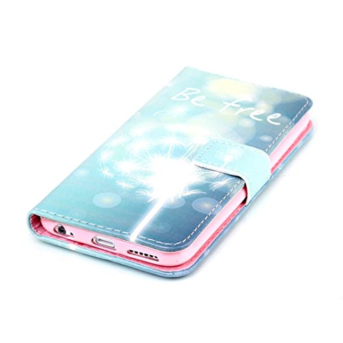 "iPhone 6 Plus/6S Plus (5.5"") Hülle im Bookstyle, Xf-fly® PU Leder Flip Wallet Case Cover Schutzhülle für Apple iPhone 6 Plus/6S Plus (5.5 Zoll) Tasche Handytasche Schutz Etui Schale Handyhülle P-4"