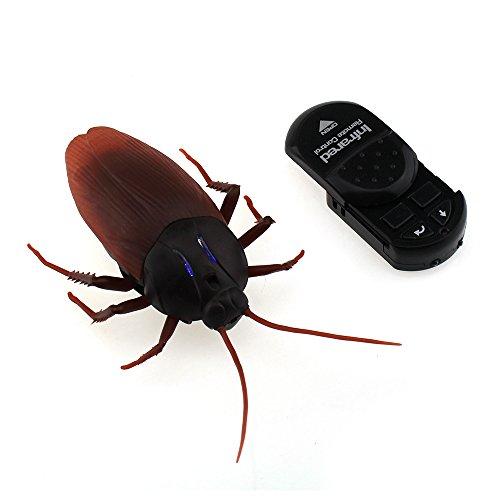 Tipmant RC Barato Insecte Bug Véhicule Automobile à Télécommande Roach électrique Jouet d'animaux Cadeau pour Enfants