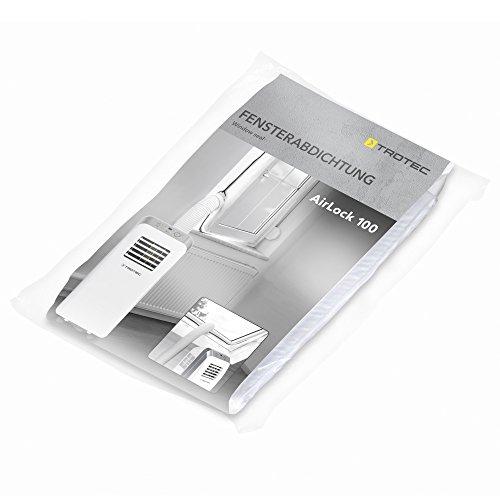 TROTEC AirLock 100 Fensterabdichtung für Klimageräte und Ablufttrockner Hot Air Stop