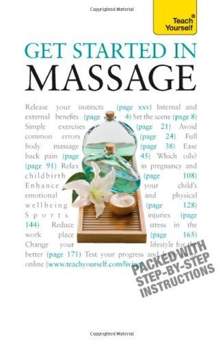 Get Started in Massage: Teach Yourself by Denise Whichello Brown (2010-01-29)
