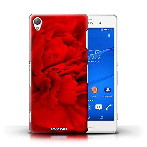 Kobalt® Imprimé Etui / Coque pour Sony Xperia Z3 / Doux Rose conception / Série floral Fleurs Pétales de Rose