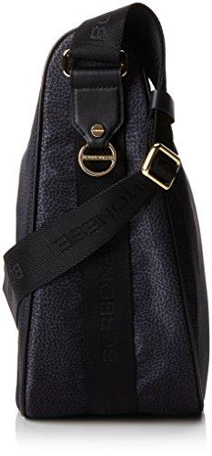 Borbonese 934777296, sac bandoulière Noir