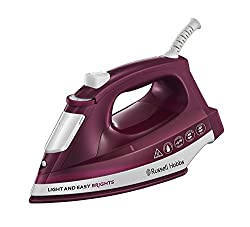 Mulberry : Russell Hobbs 24820 Light and Easy Brights Iron, 2400 W, Mulberry