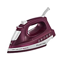 Russell Hobbs Steam Iron, Maroon, 2400W, 24820