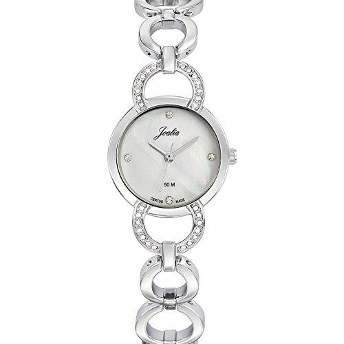 Joalia 633317 - Orologio da polso donna, metallo, colore: argento