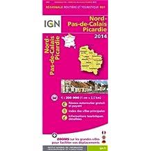 R01 NORD/PAS-DE-CALAIS/PICARDIE 2014  1/250.000